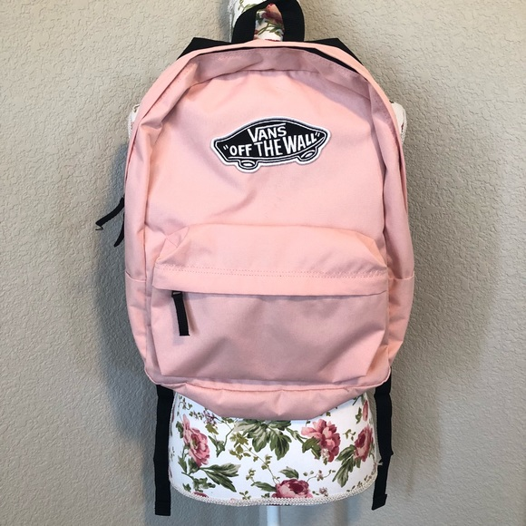 d6ade0fae1c02f Vans Light Pink Backpack. M 5b43c81cbaebf600e7314da0